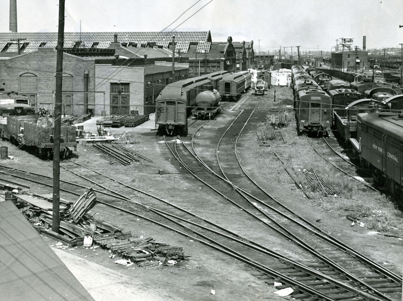 Conrail Takes Over Collinwood's Yards