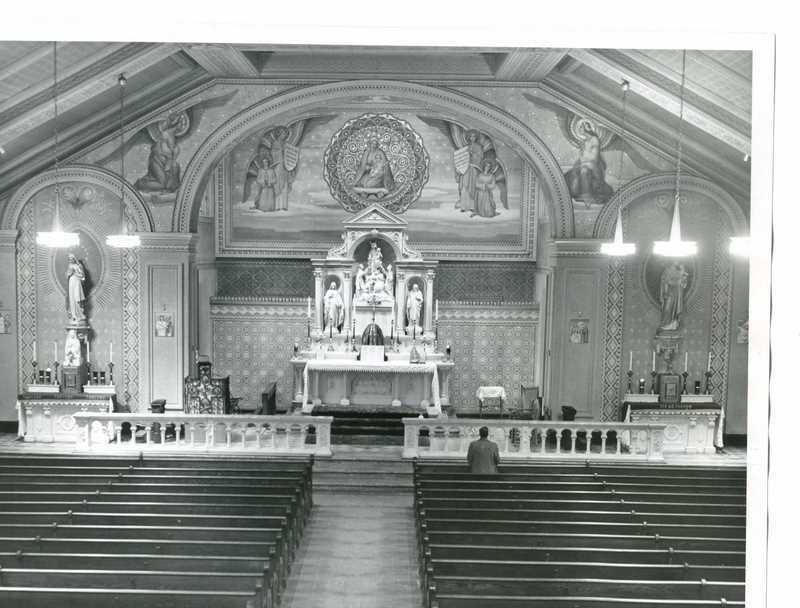 Holy Rosary Church Interior