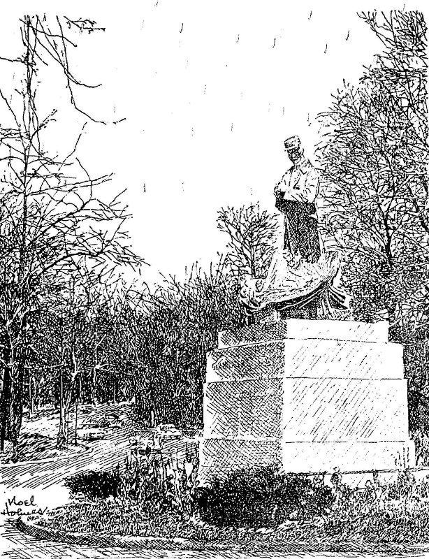 The Milan R. Stefanik Statue