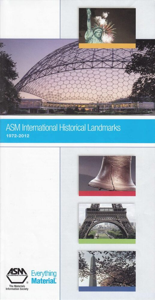 ASM International Historical Landmarks 1972-2012