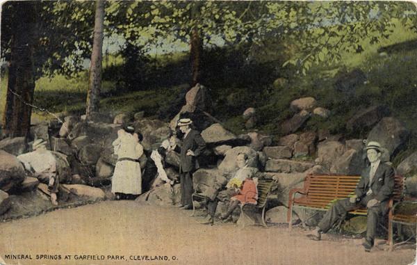 Garfield Park Springs, 1912 Postcard