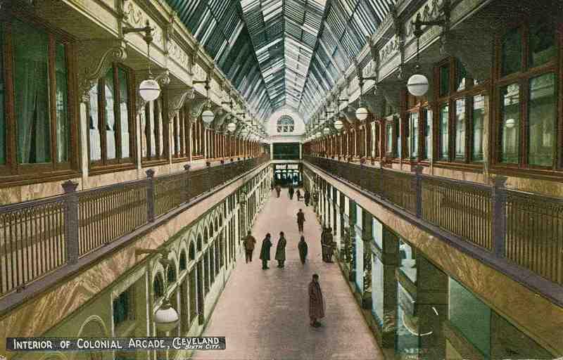 Colonial Arcade, Circa 1913
