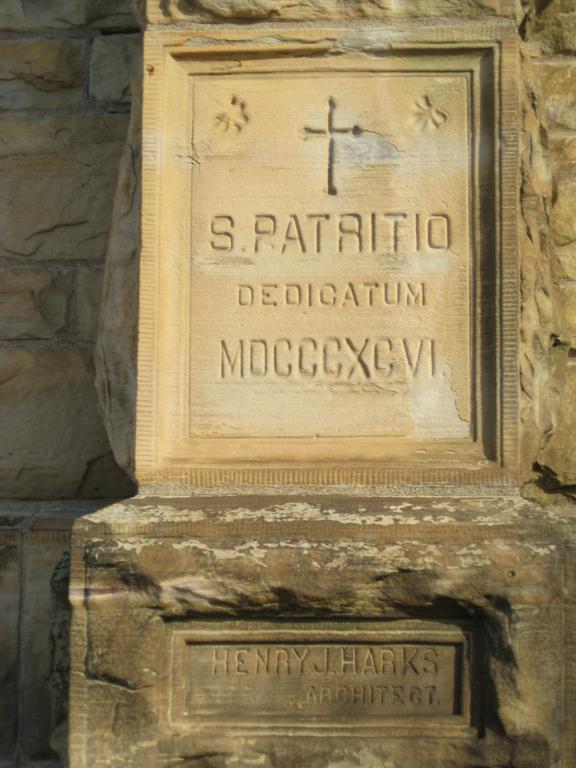 The Church's Dedication Cornerstone