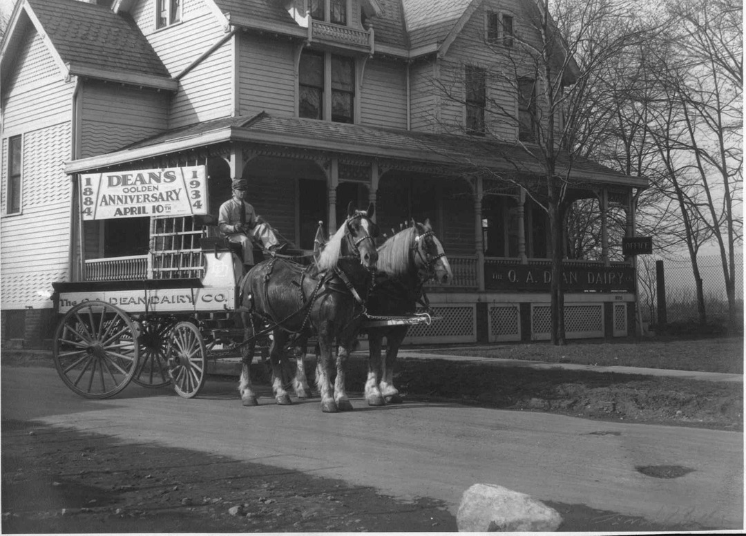 Horse-Drawn Delivery, 1934