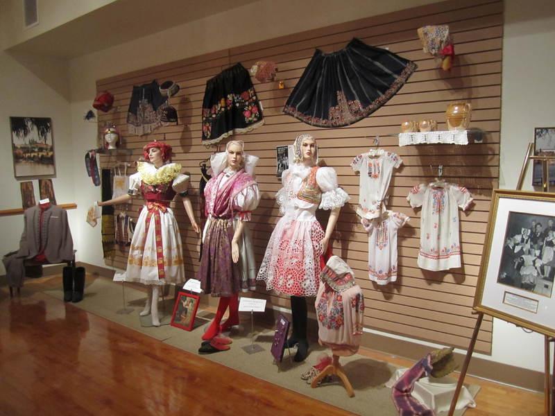 Display of Bohemian Clothing