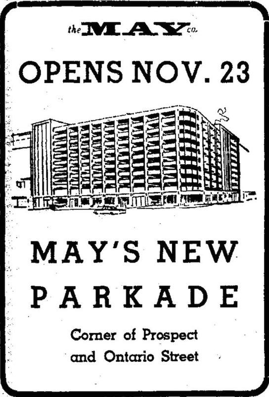 May's Parkade, 1964