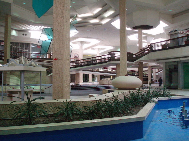 Interior of Closed Mall, 2008