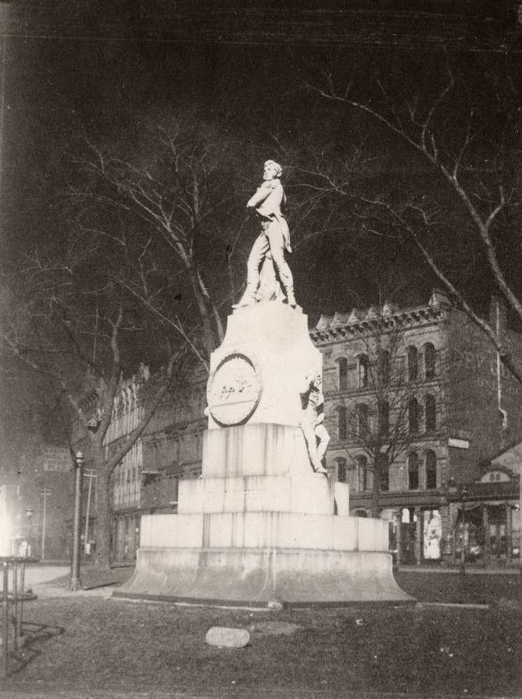 Commodore Perry Statue, Monument Square, Cleveland, Ohio