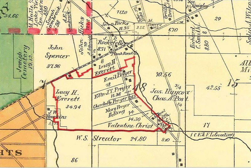 Mayfield Ohio Map.M M Brown S Mayfield Heights Cleveland Historical