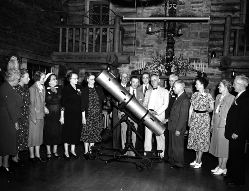 The Science Club Receives a Telescope