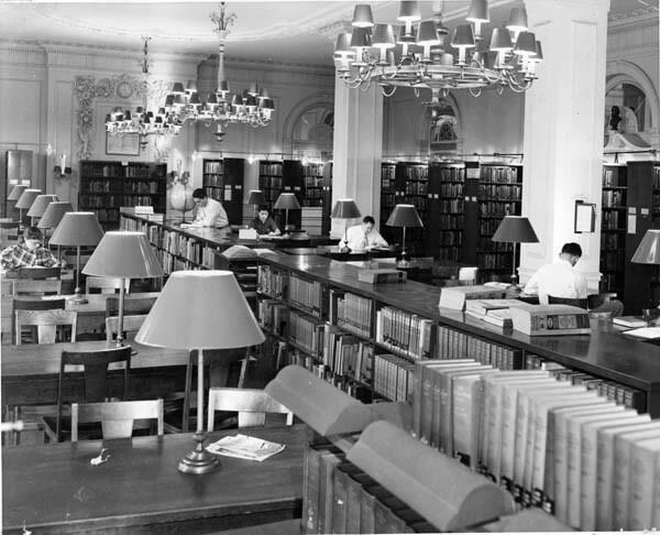Fenn College Library, ca. 1940