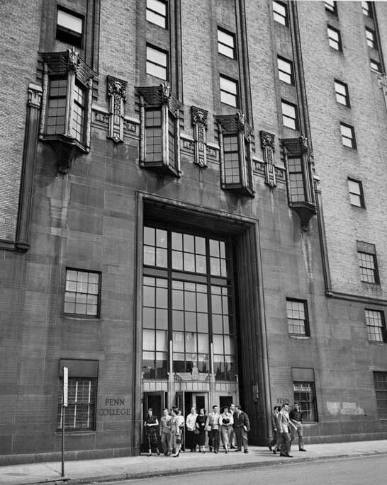 Fenn College Entrance, 1949
