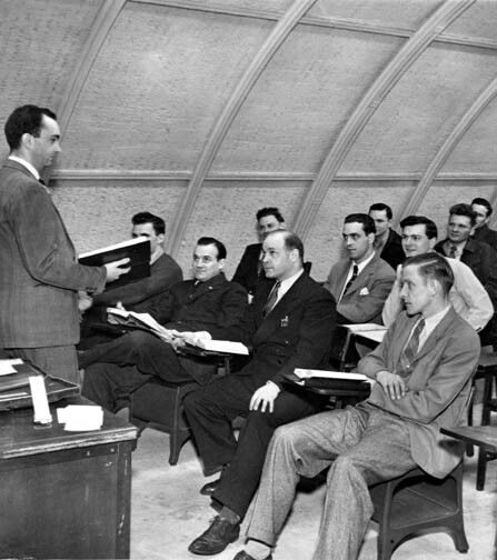 Quonset Hut Classroom, 1949