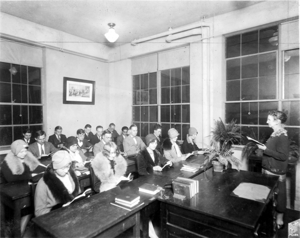 YMCA English Class, 1923