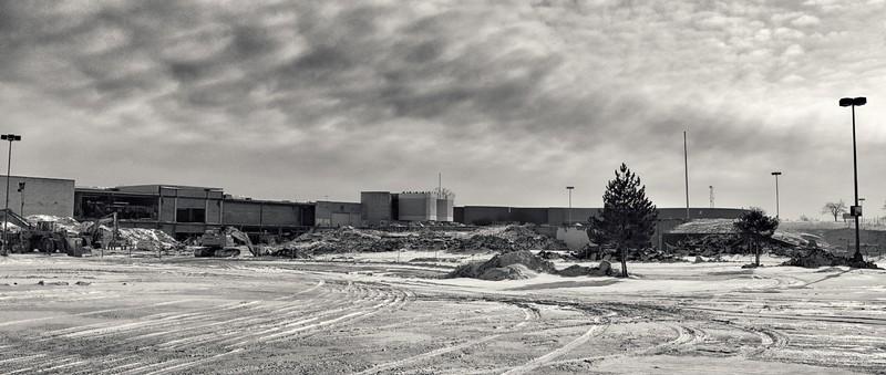 Randall Park Demolition, 2015