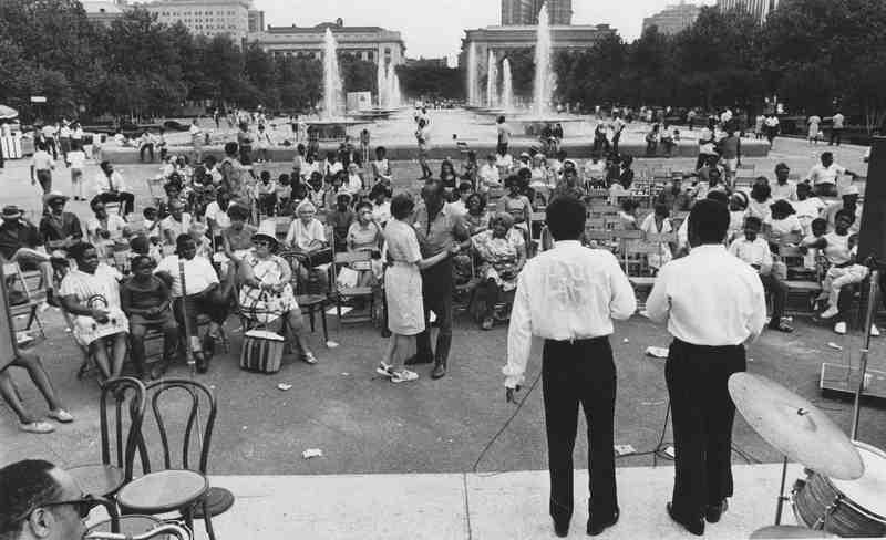 Mall Gathering, 1968