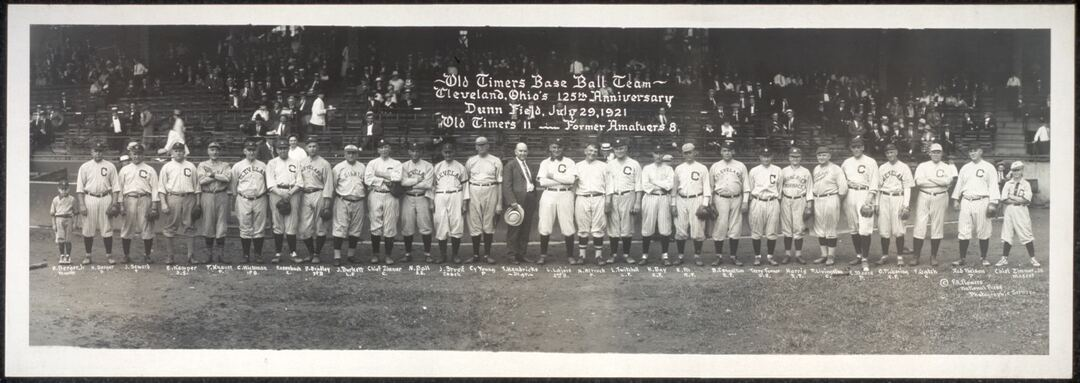 Old Timers Game, 1921
