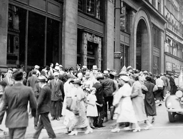 Euclid Arcade Entrance, 1934