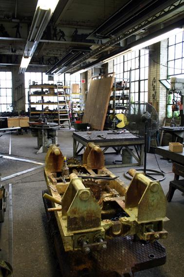 Interior, Rose Iron Works, ca. 2005