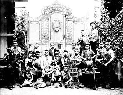 Martin Rose and Crew, ca. 1910