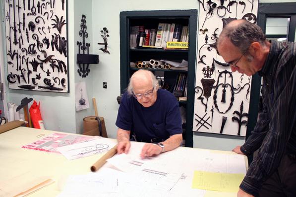 Melvin Rose at Design Table, ca. 2005
