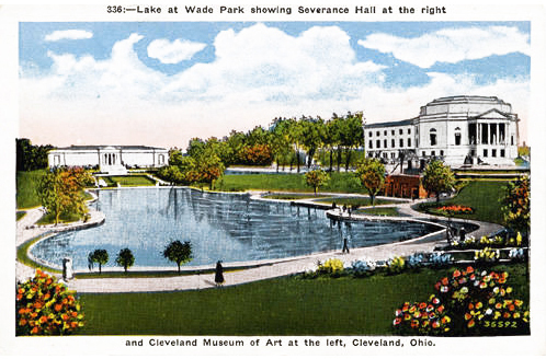 Severance Hall and CMA, ca. 1940