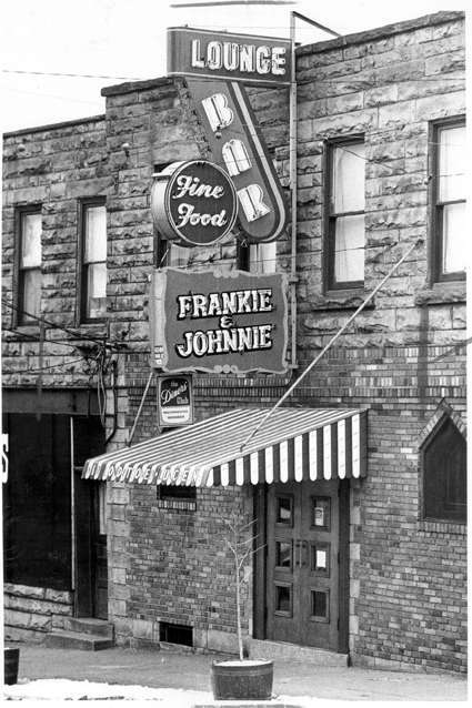 Frankie and Johnnie's Bar, 1962