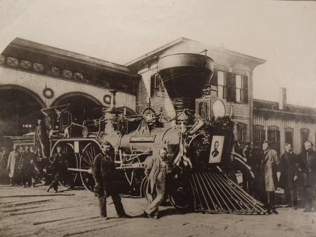 Funeral Train, 1865