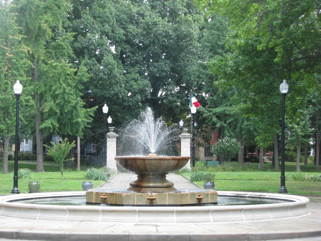Restored Renaissance Fountain