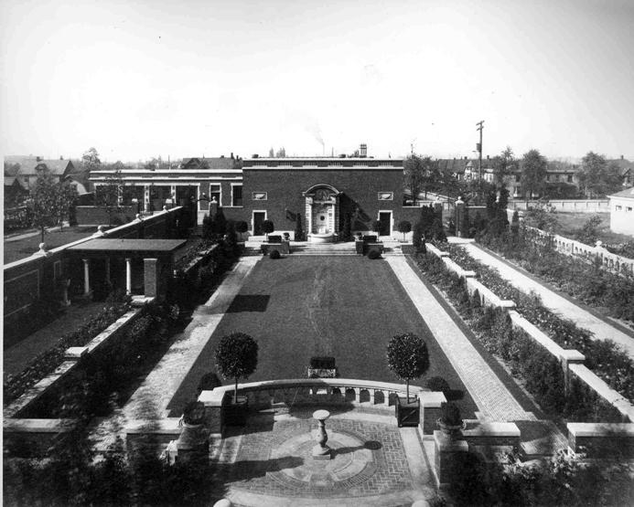 Sunken Gardens, ca. 1930