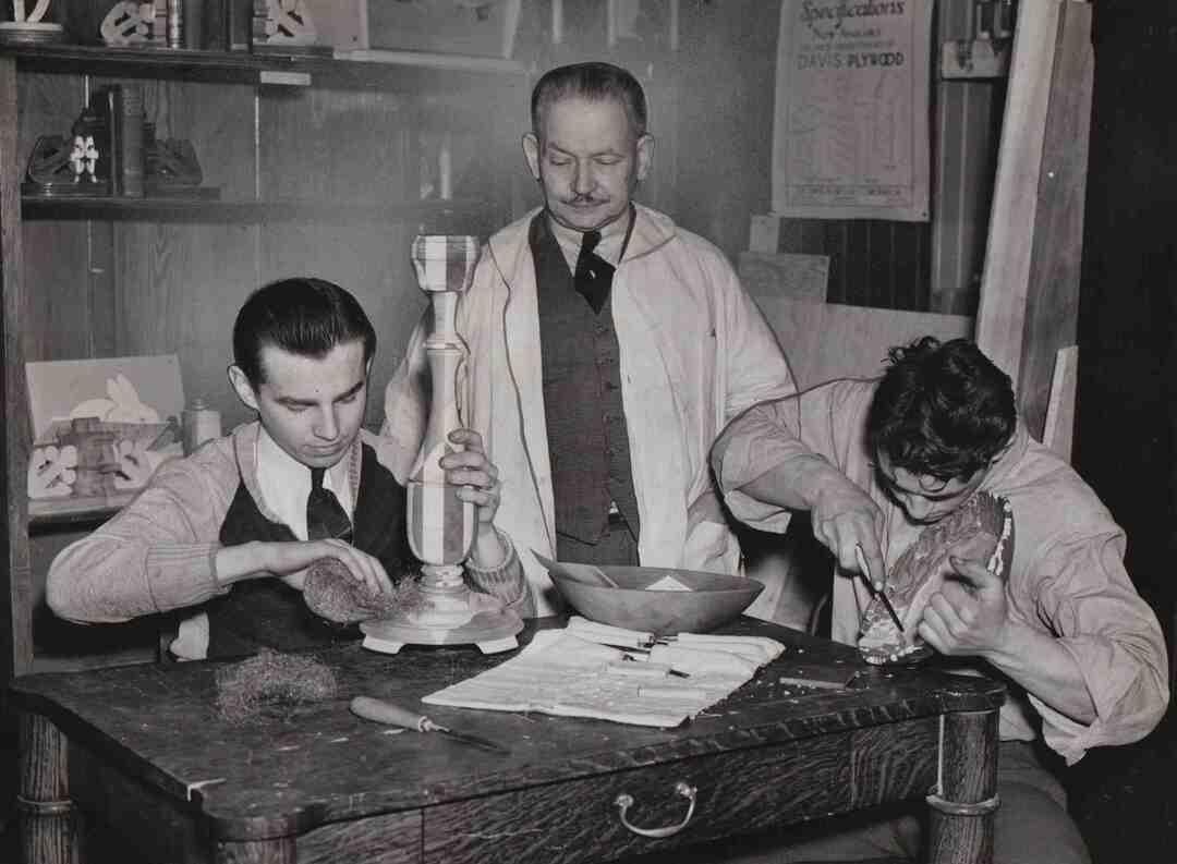 Merrick Wood Shop, 1940