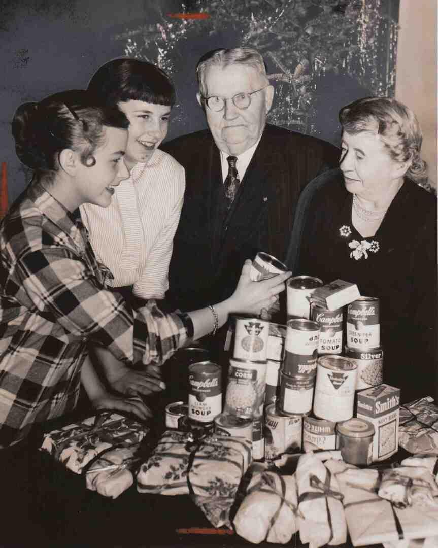 Food Drive, 1953