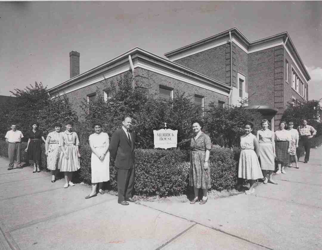 Merrick House Staff, 1960