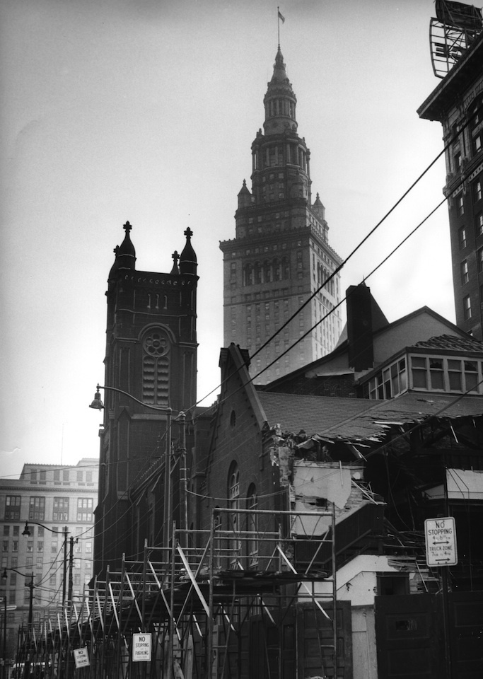Demolition of Parish House, 1961