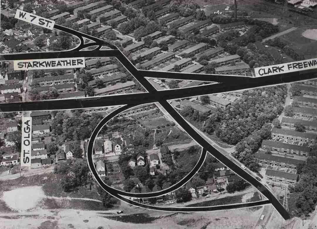 Clark Freeway Route