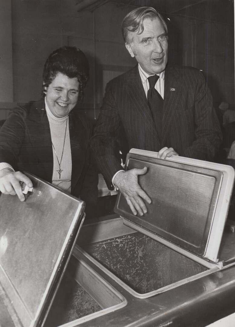 Sr. Chaminade & Gov. Gilligan, 1974