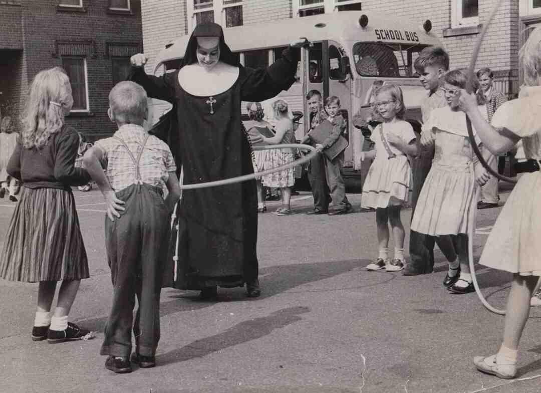 St. John Cantius School, 1958
