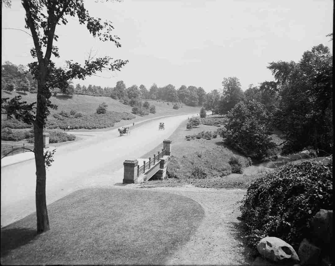 Rockefeller Park, Circa 1905