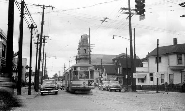View From Intersection at W. 65th and Lorain Avenue