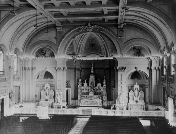 St. Colman Interior, 1928