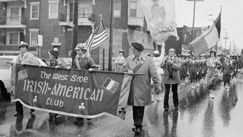St. Patrick's Day March from Madison Avenue to St. Colman Church, 1980