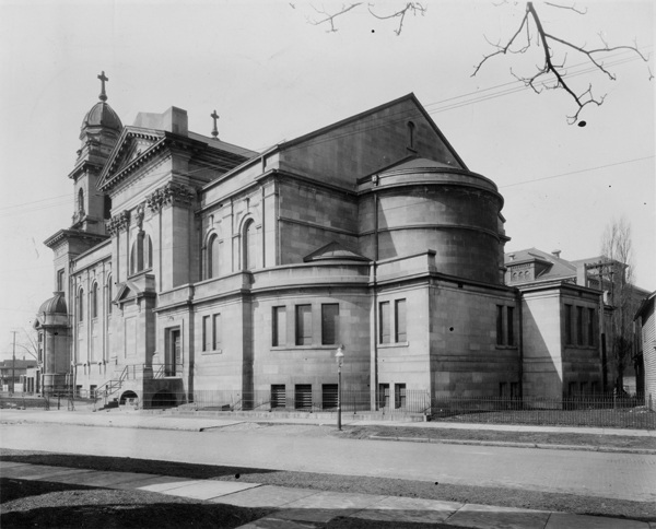 Rear Exterior of St. Colman Church
