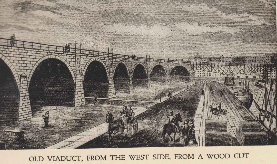 Superior Viaduct, 1878