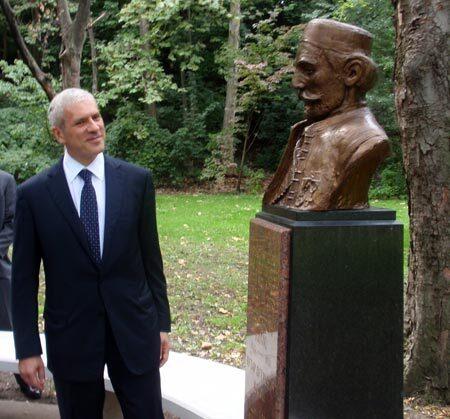 President Tadic & Njegos, Sep. 2009