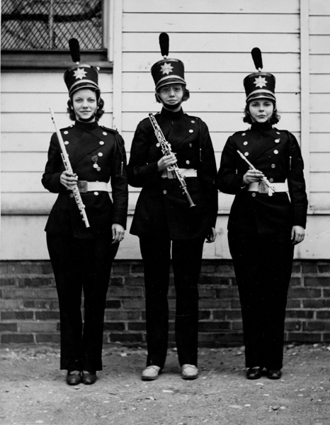 Shaw Band Members, ca. 1940s