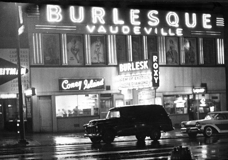 Roxy Theater, 1958