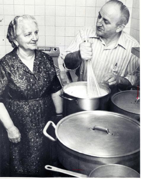 Frank Sterle and Alojzija Sterle