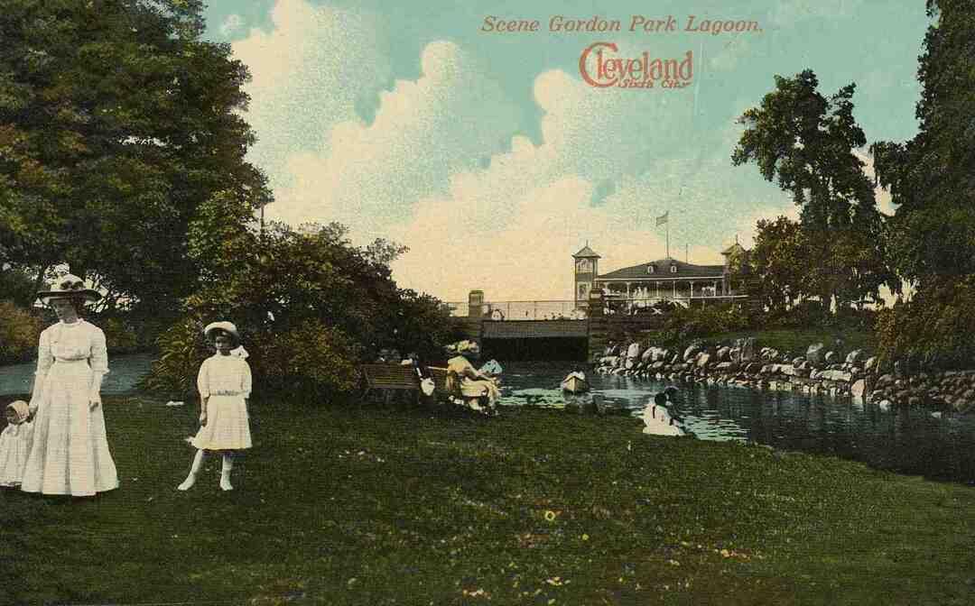Gordon Park Lagoon, Circa 1910