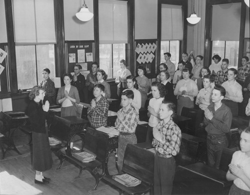 St. Colman School, 1954