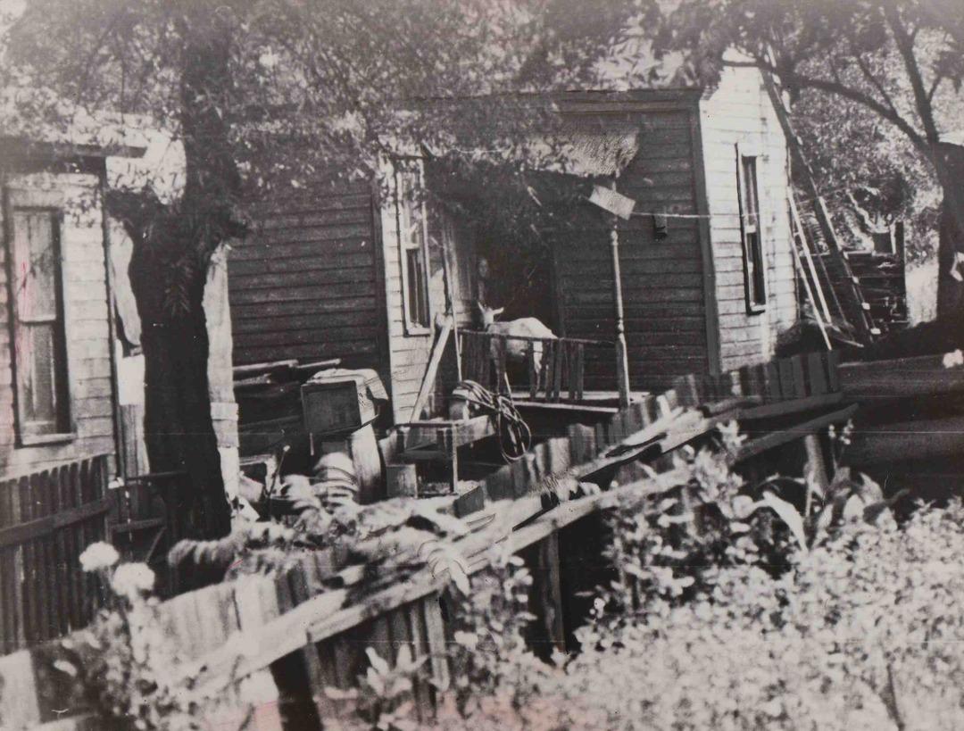 Backyard Scene, 1939